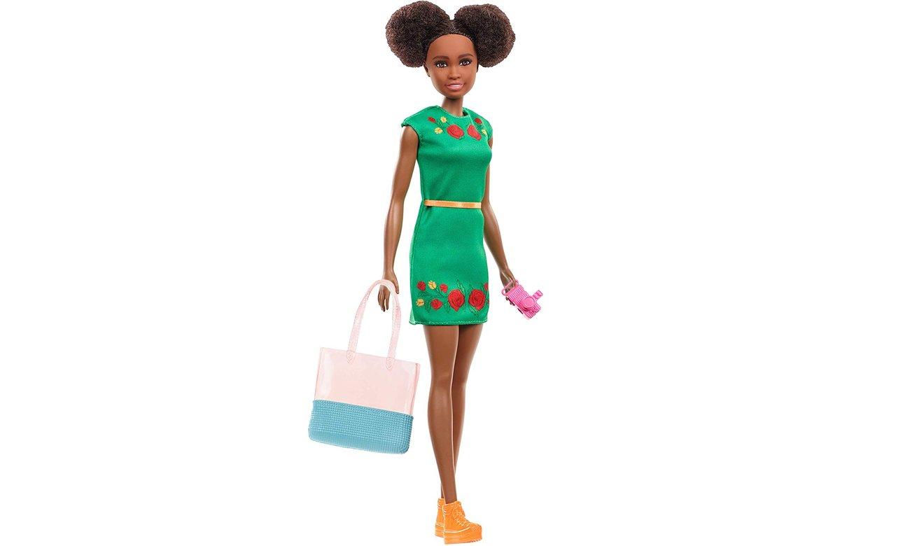 Mattel Barbie Nikki w podróży Lalka