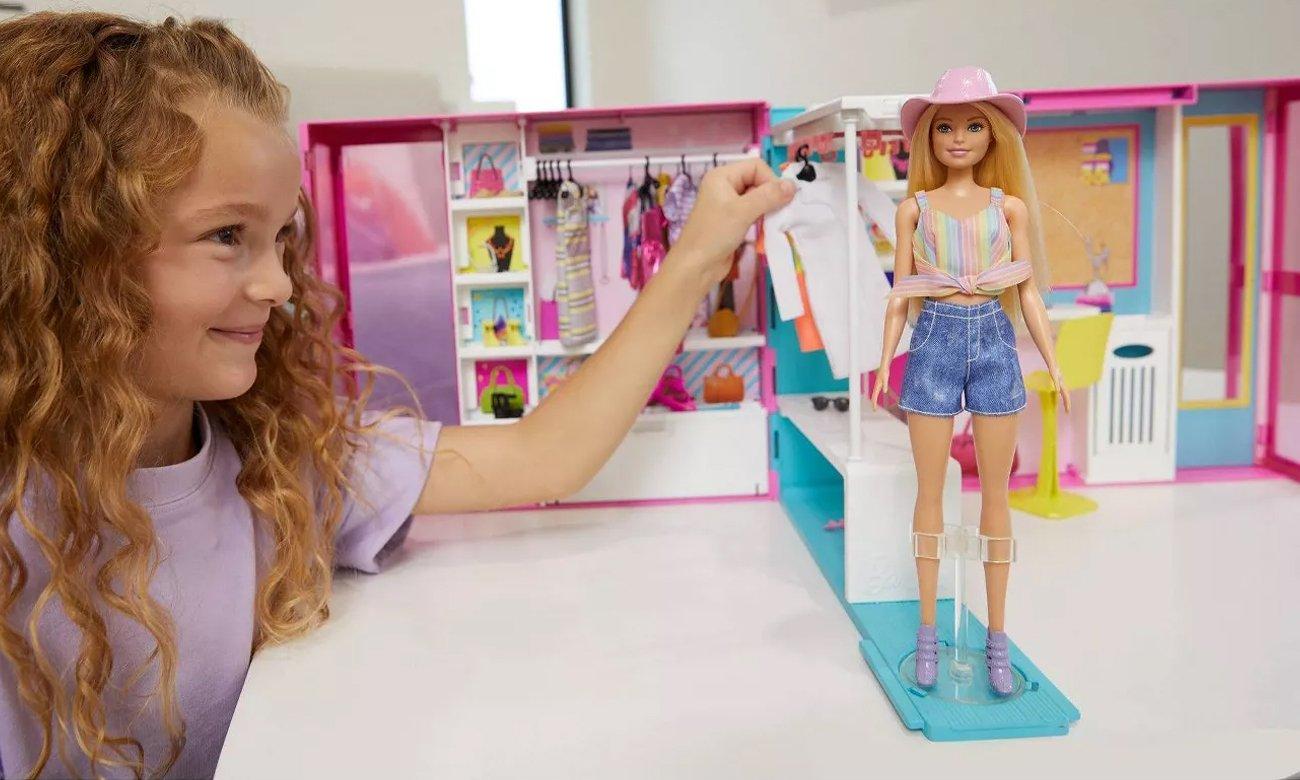 Mattel Barbie Wymarzona szafa