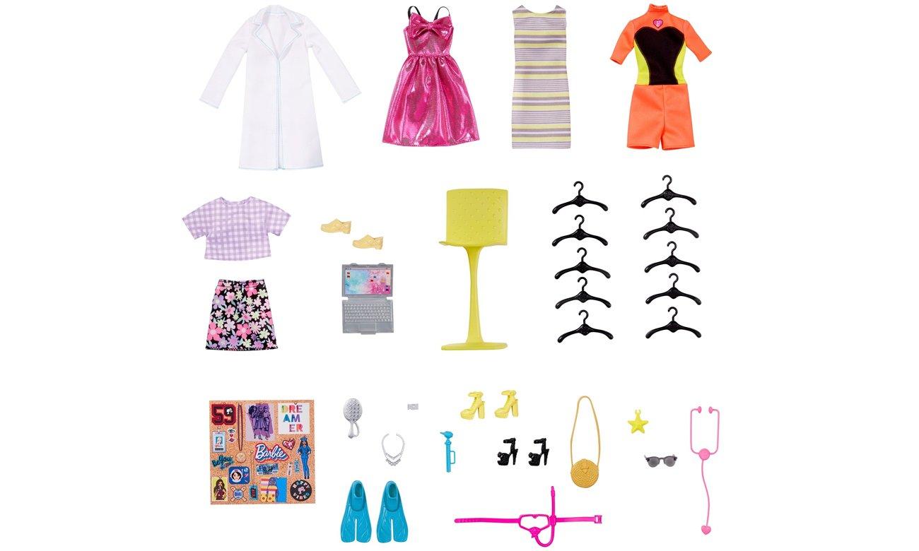 lalka barbie i ubranka