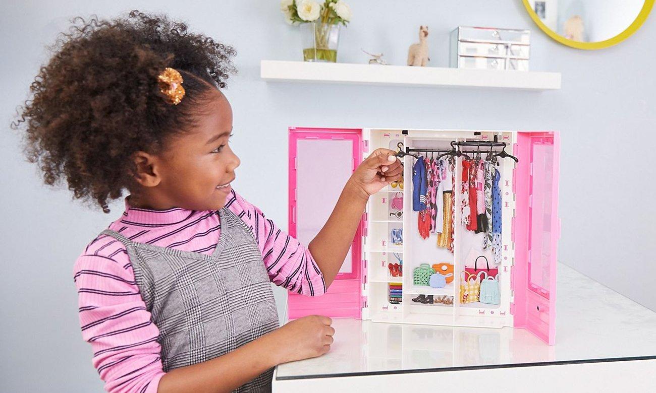 Mattel Barbie Fashionistas Szafa na ubranka
