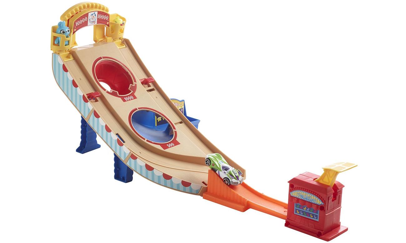 Mattel Hot Wheels Toy Story 4 Wesołe miasteczko Zestaw