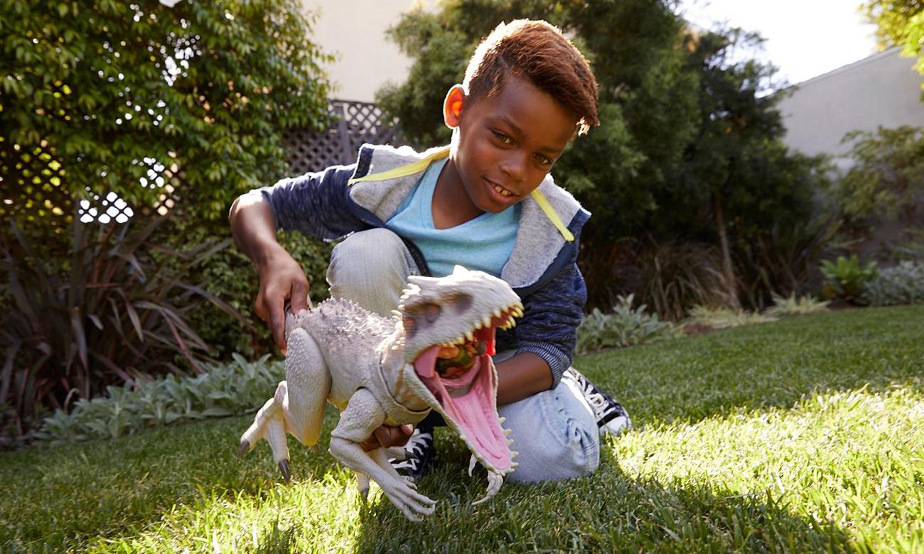 Mattel Jurassic World Indominus Rex Atakuj i pożeraj
