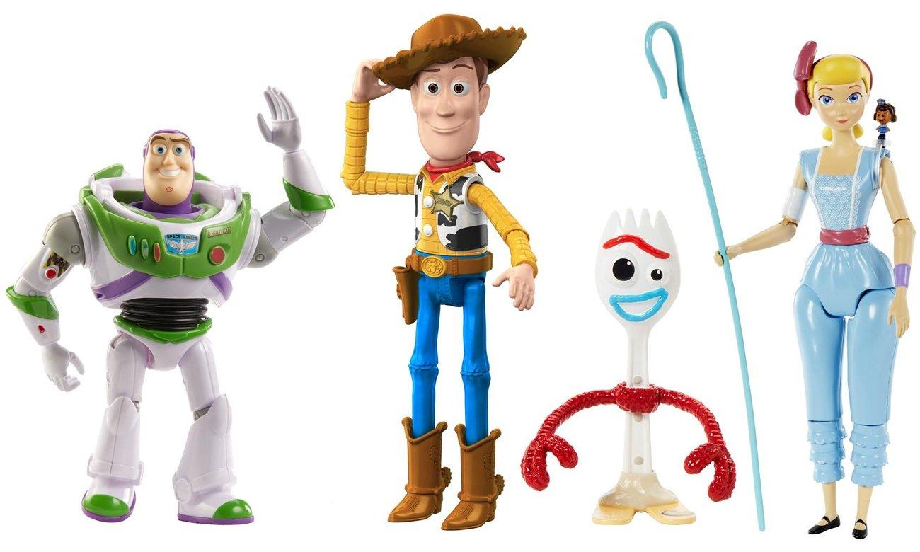 Mattel Toy Story 4 Figurki podstawowe + Hahalina Rozpuk