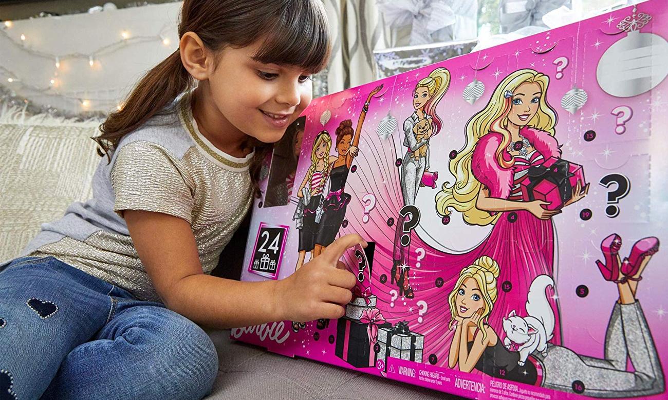 Mattel Barbie Kalendarz Adwentowy 2019