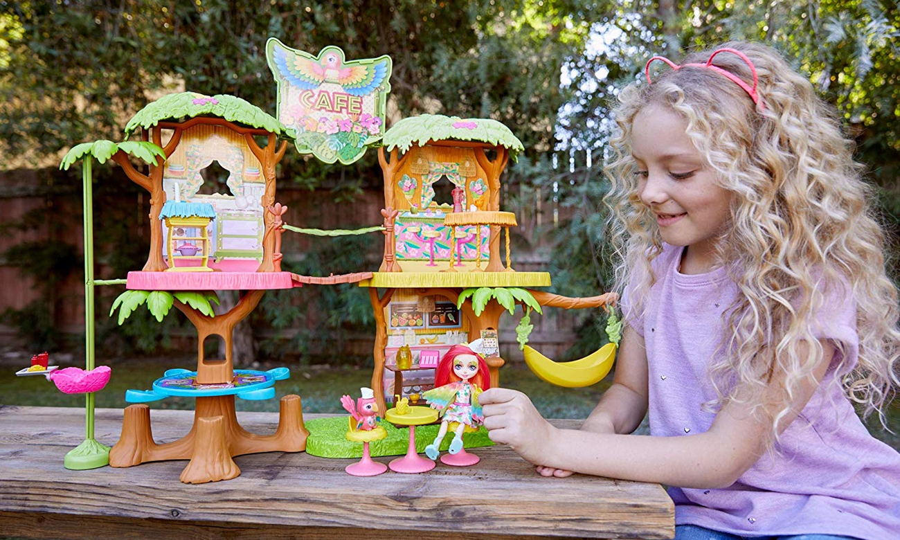 Mattel Enchantimals Tropikalna Kawiarenka