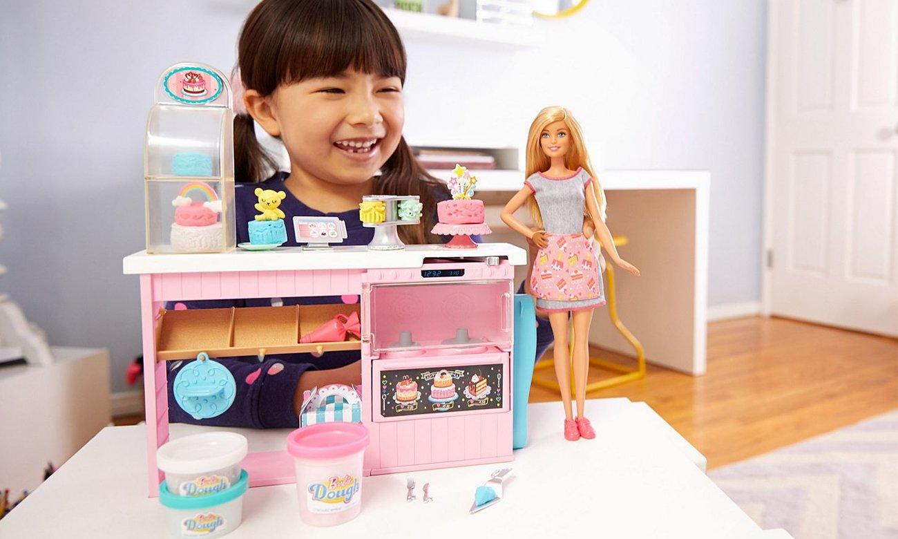 Mattel Barbie Pracownia Wypieków + Lalka