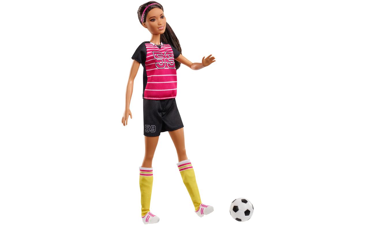 Mattel Barbie Kariera 60 urodziny Lalka Piłkarka