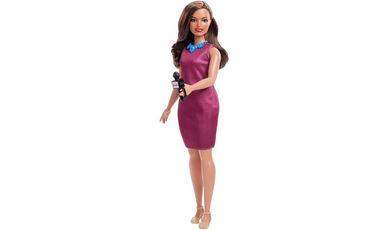 Mattel Barbie Kariera 60 urodziny Lalka Reporterka