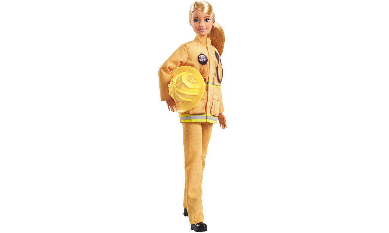 Mattel Barbie Kariera 60 urodziny Lalka Strażak