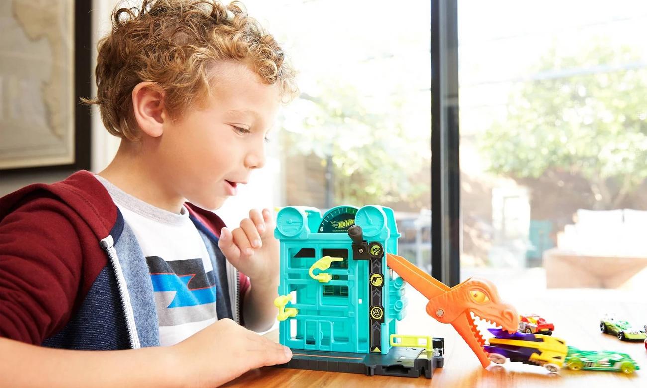 Mattel Hot Wheels City Mały Zestaw Ucieczka ze sklepu
