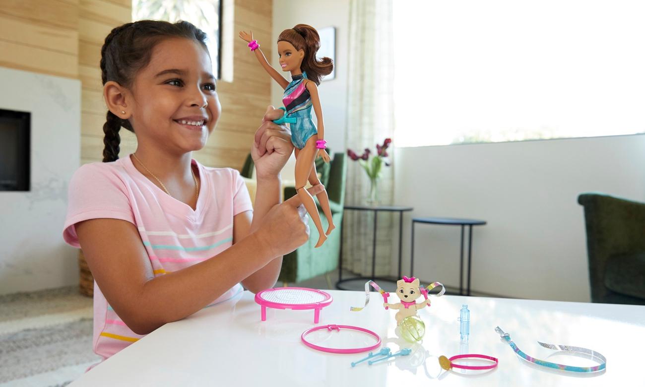 Mattel Barbie Teresa gimnastyczka Lalka