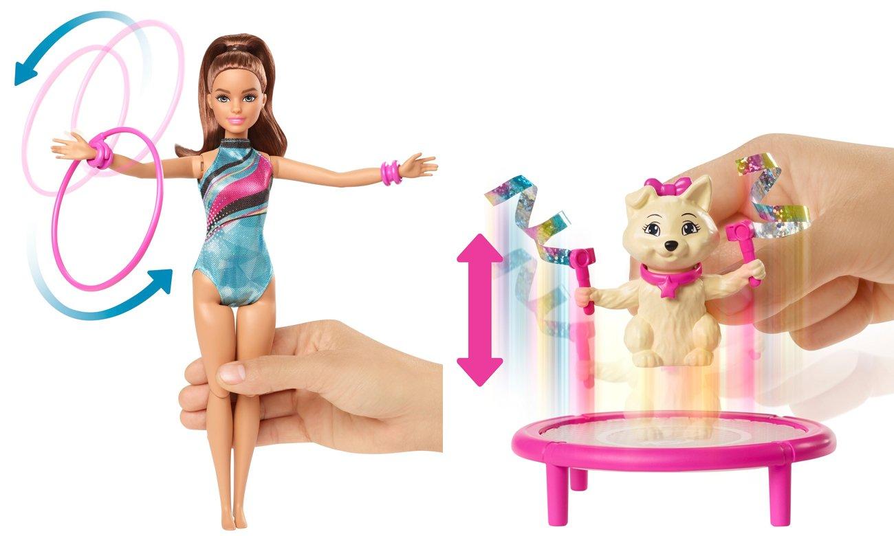 barbie lalka gimnastyczka