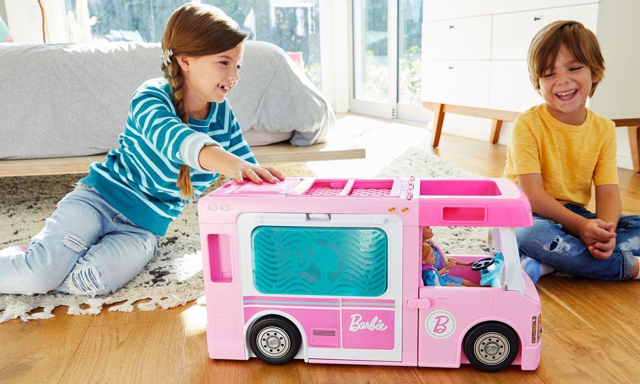 Mattel Barbie Kamper 3w1