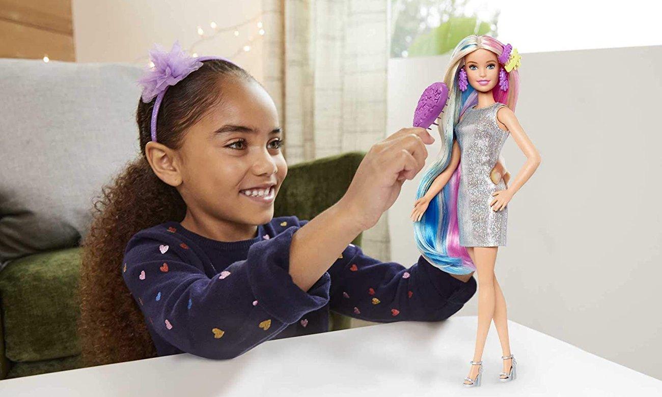 Mattel Barbie Baśniowa fryzura