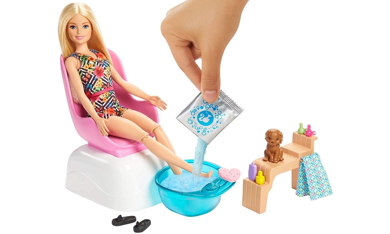 Mattel Barbie Mani-pedi Spa Zestaw do zabawy