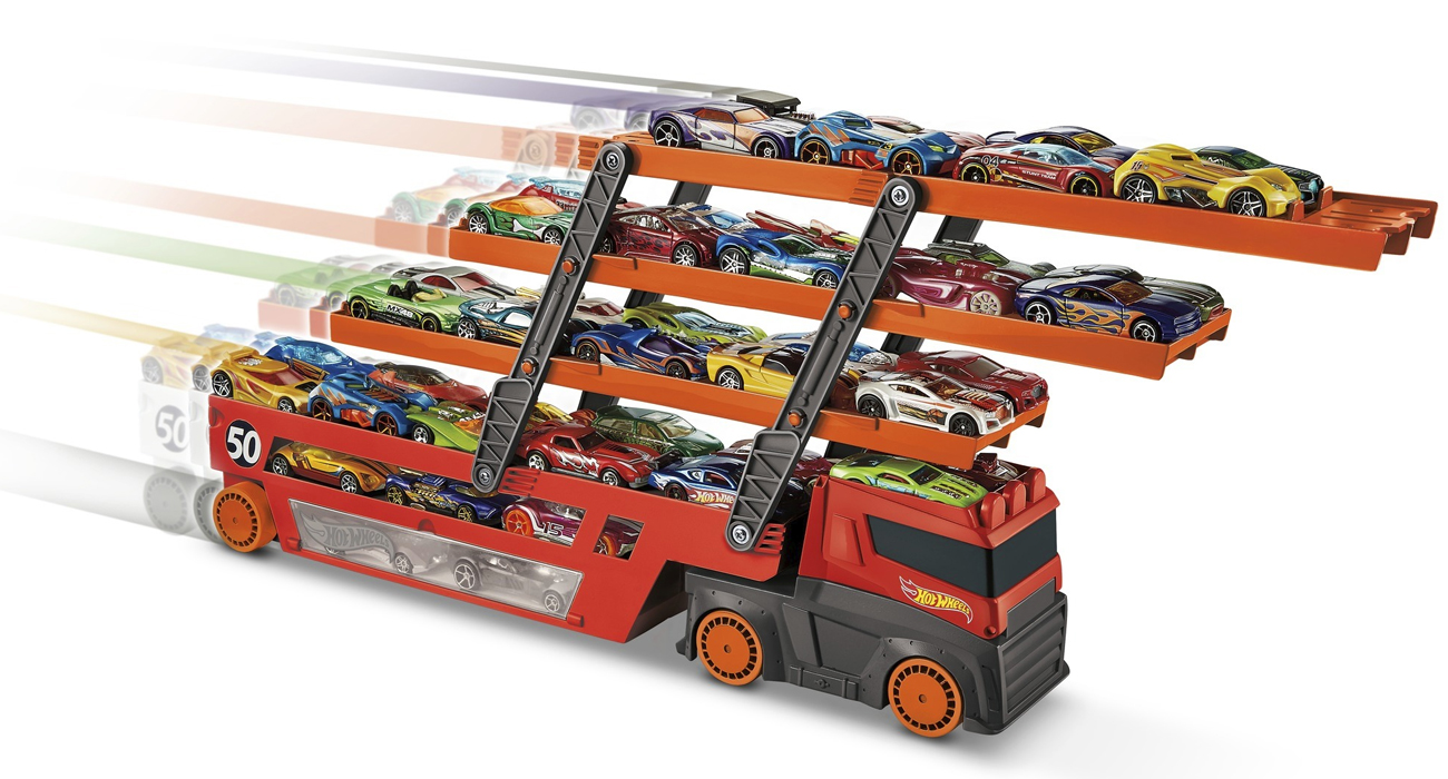 Hot Wheels Mega Transporter