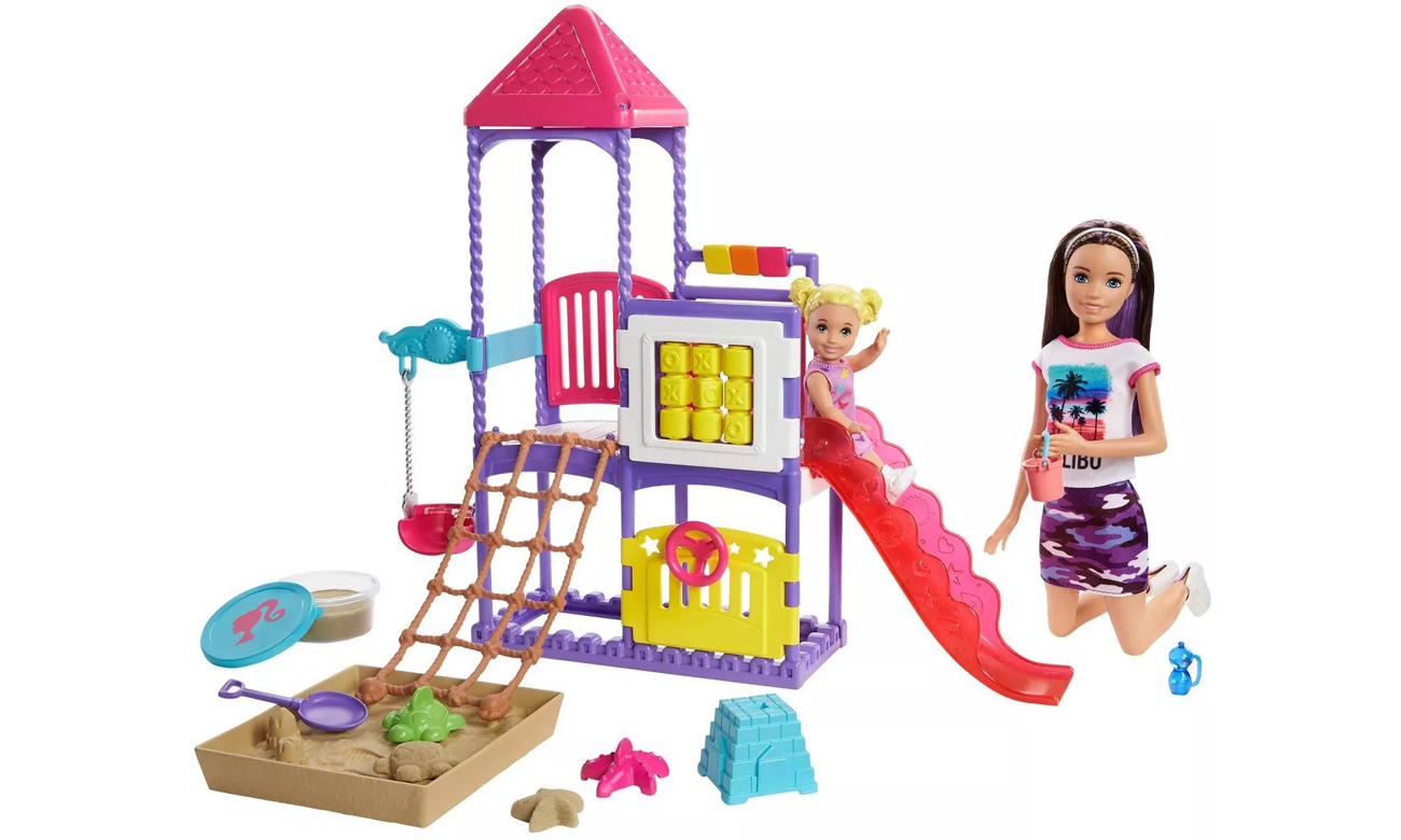 Mattel Barbie Skipper Klub opiekunek Plac zabaw Zestaw