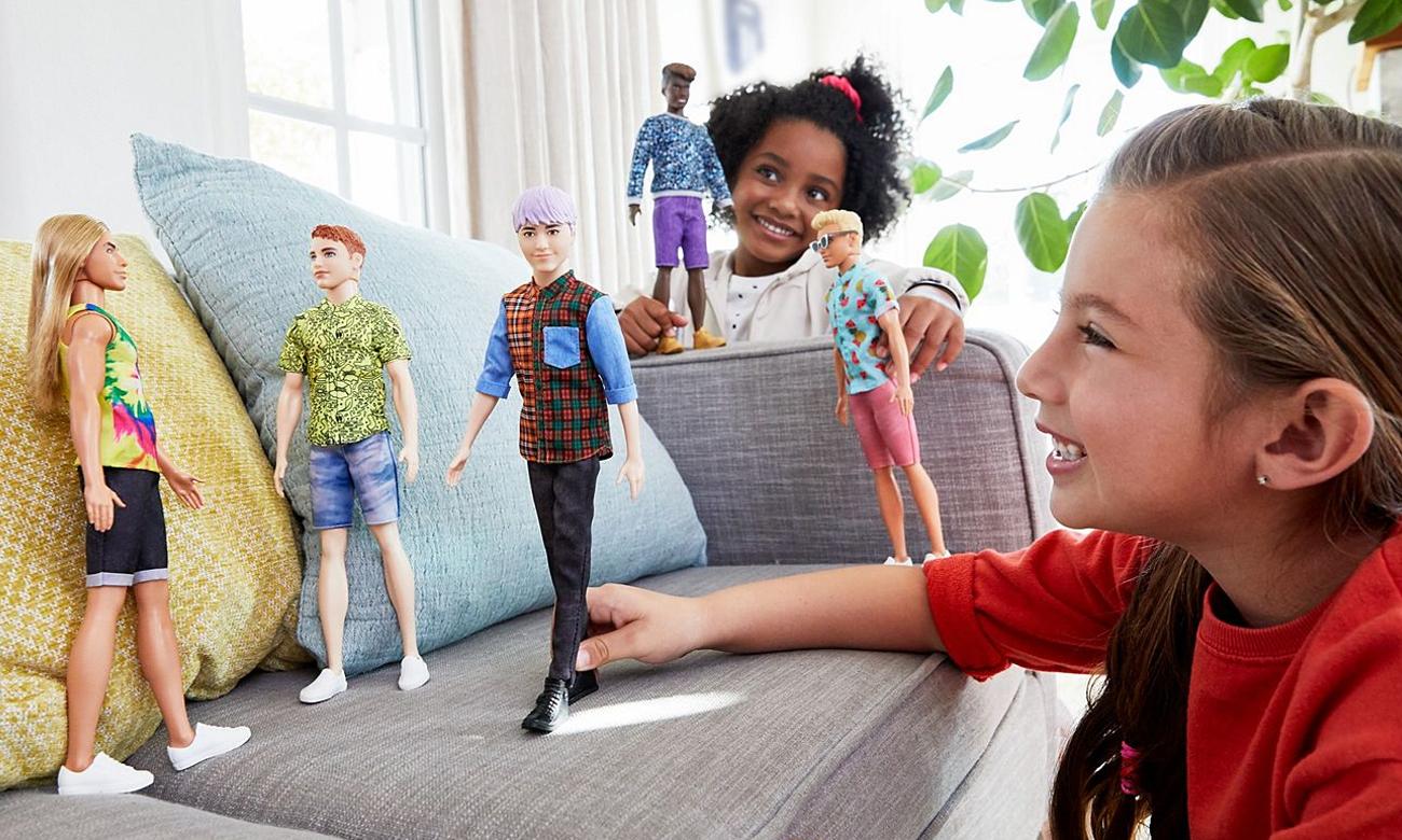 Mattel Barbie Stylowy Ken wzór 154