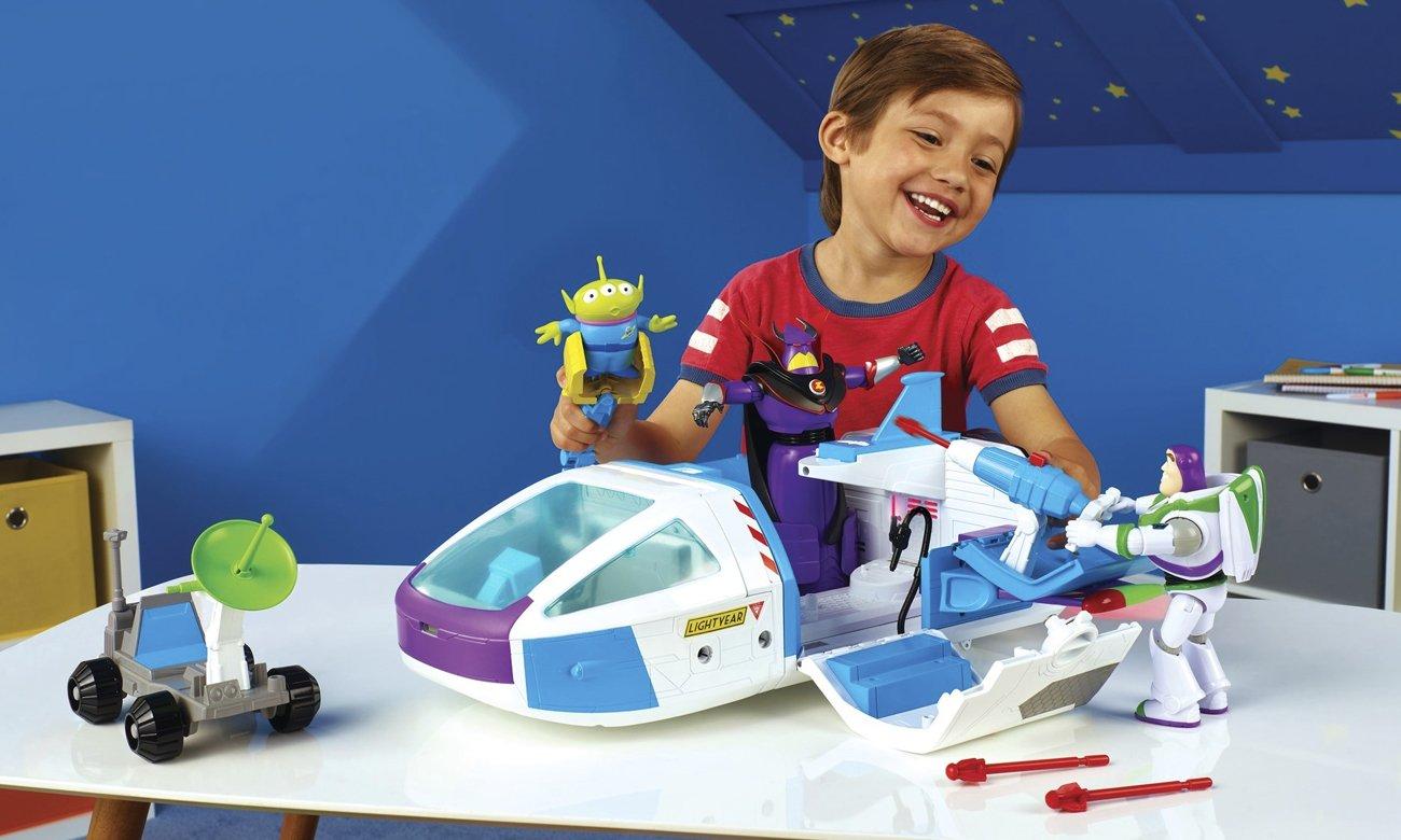 Mattel Toy Story 4 Statek kosmiczny Zestaw