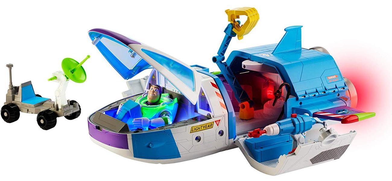 zestaw toy story ze statkiem kosmicznym
