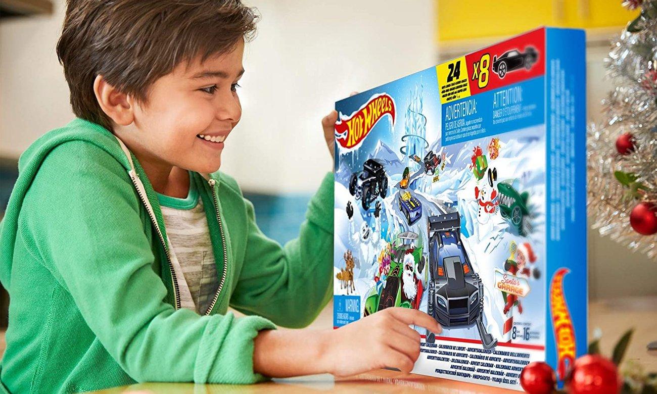 Mattel Hot Wheels Kalendarz adwentowy