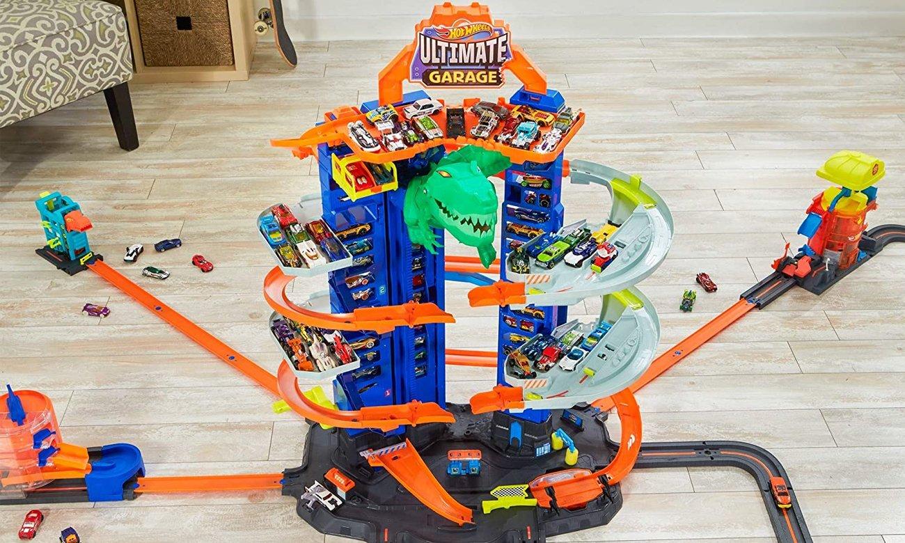Mattel Hot Wheels Mega Garaż T-Rexa