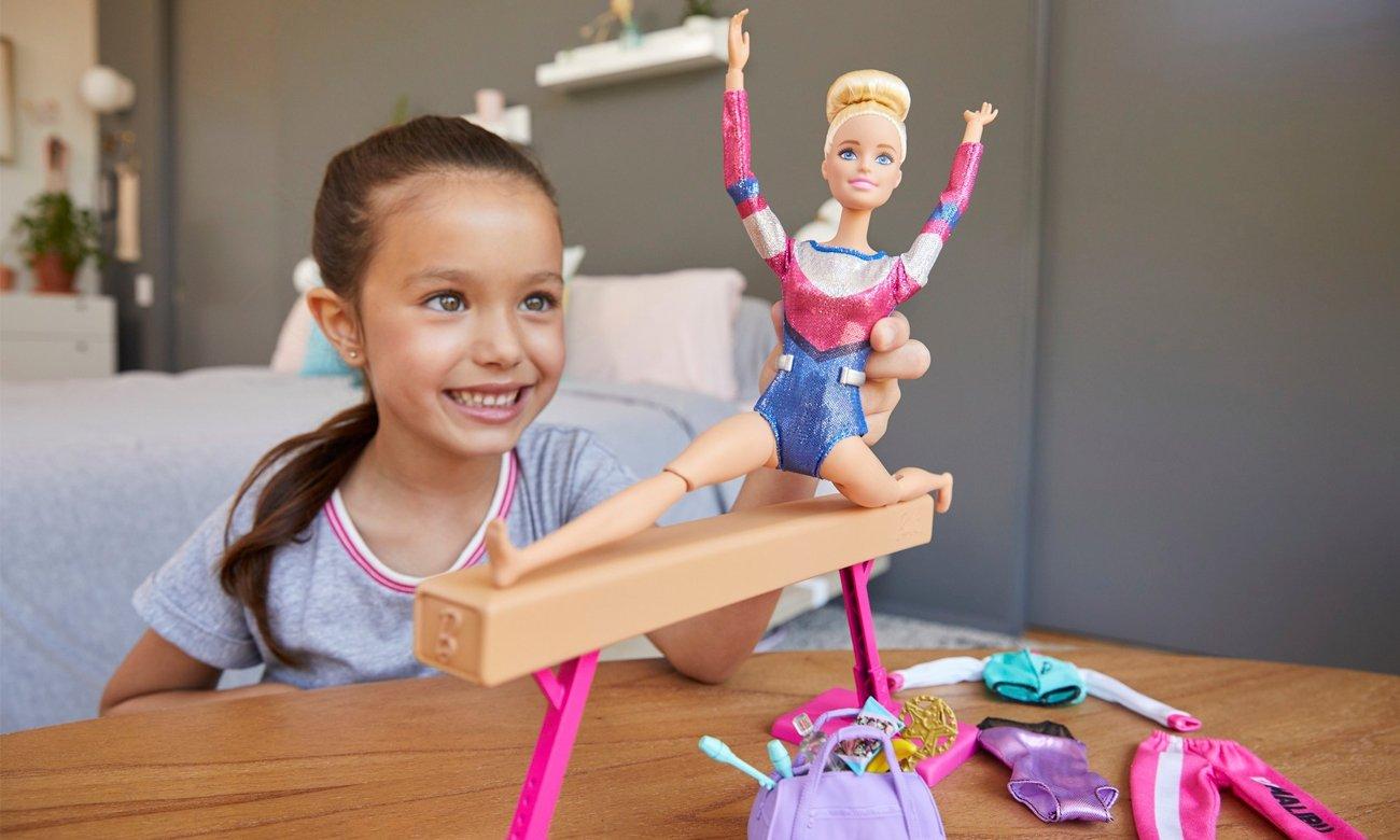 Mattel Barbie Gimnastyczka Zestaw