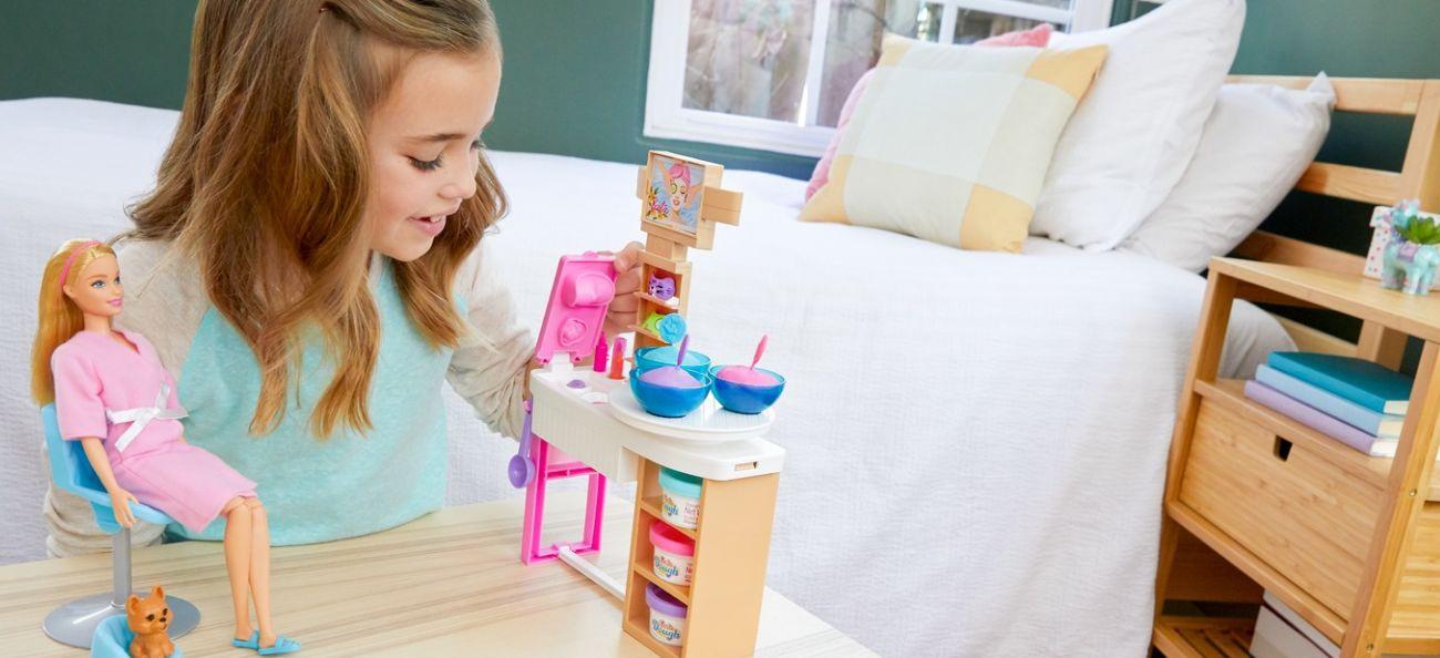 Mattel Barbie Salon Spa Maseczka na twarz Zestaw