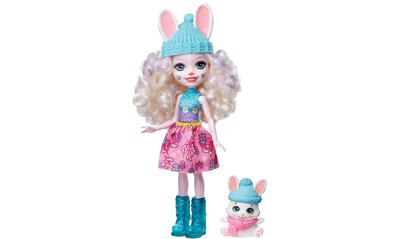 enchantimals lalka króliczek