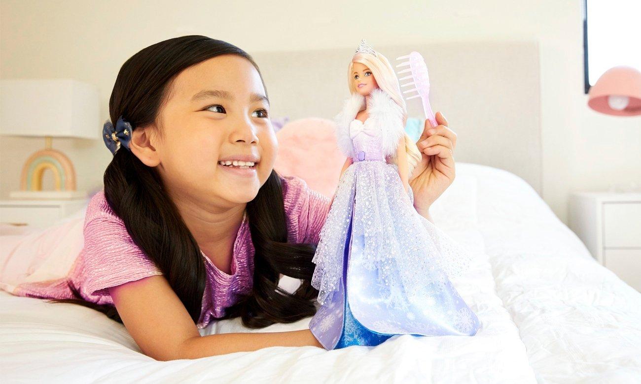 Mattel Barbie Dreamtopia Księżniczka Lodowa magia