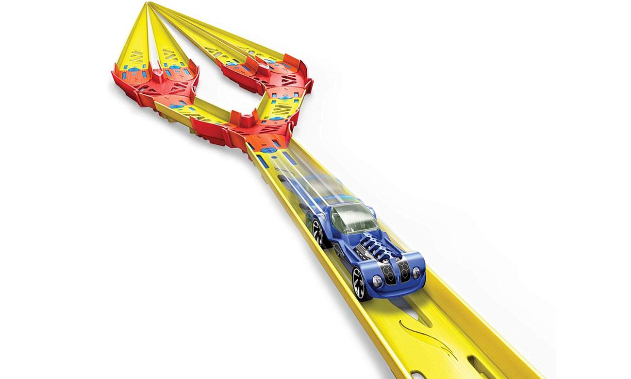 Mattel Hot Wheels Track Builder Zestaw do rozbudowy Split track pack