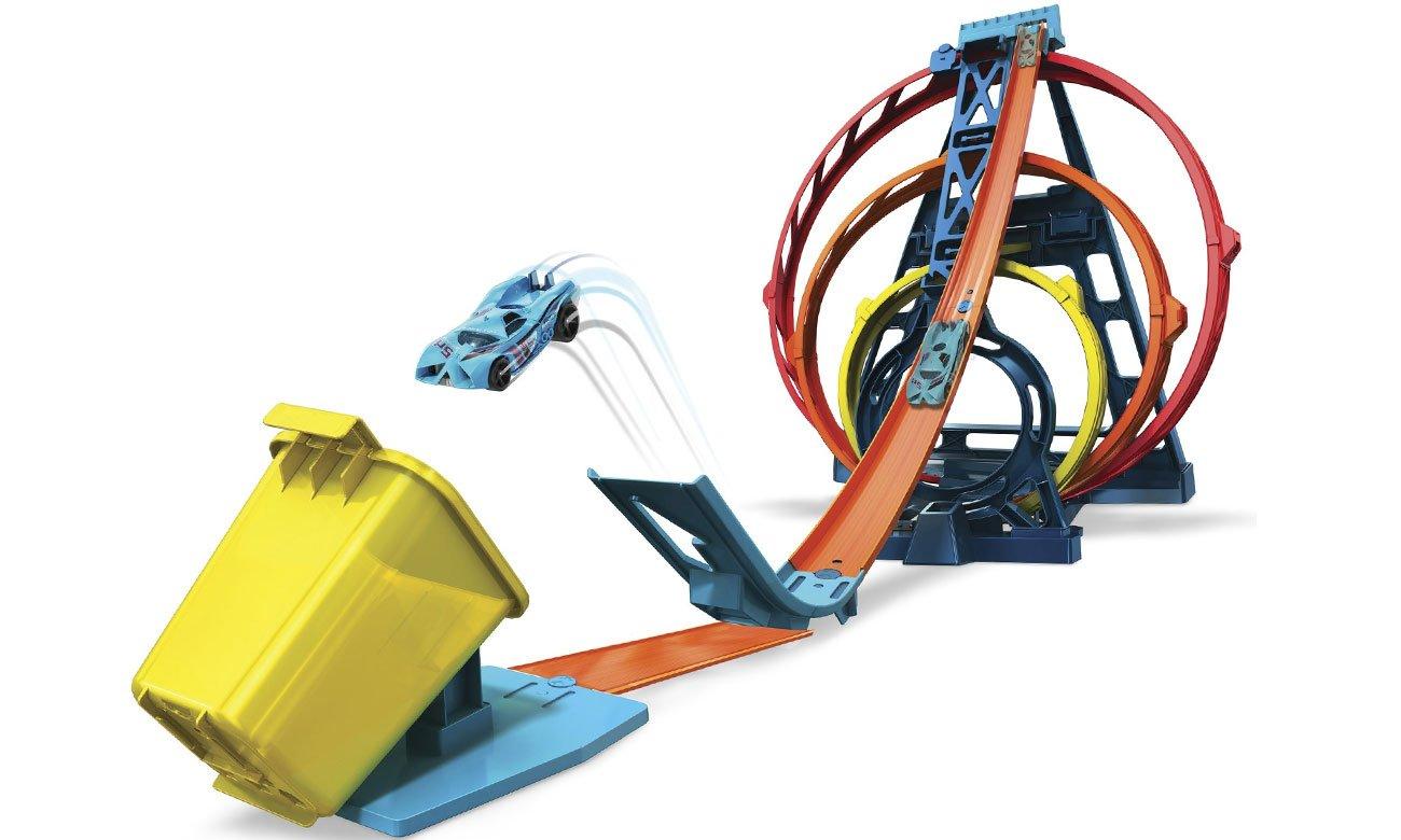 Mattel Hot Wheels Potrójna pętla GLC96
