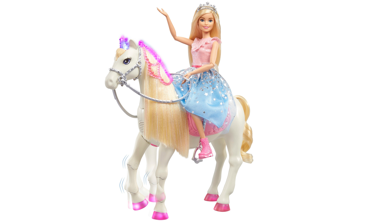 Mattel Barbie Przygody Księżniczek Koń światła i dźwięki