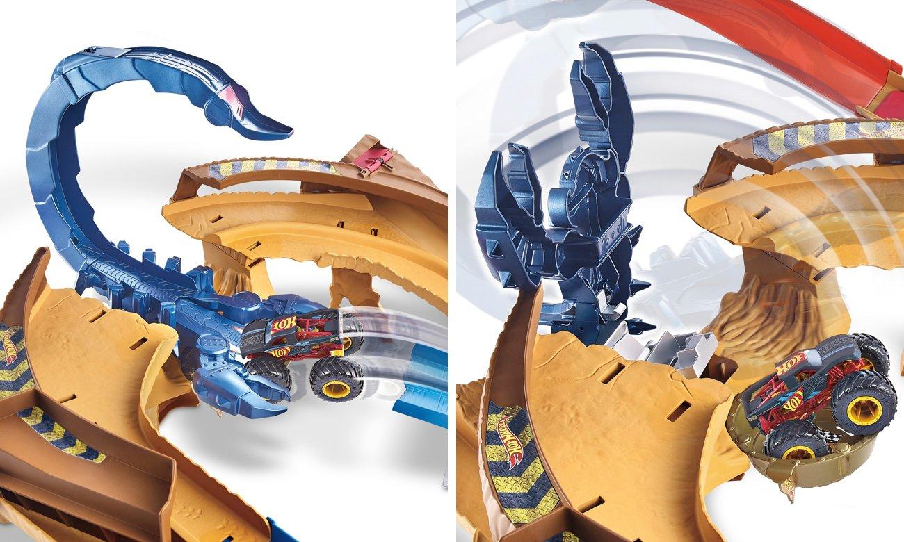 hot wheels mMonster trucks skorpion