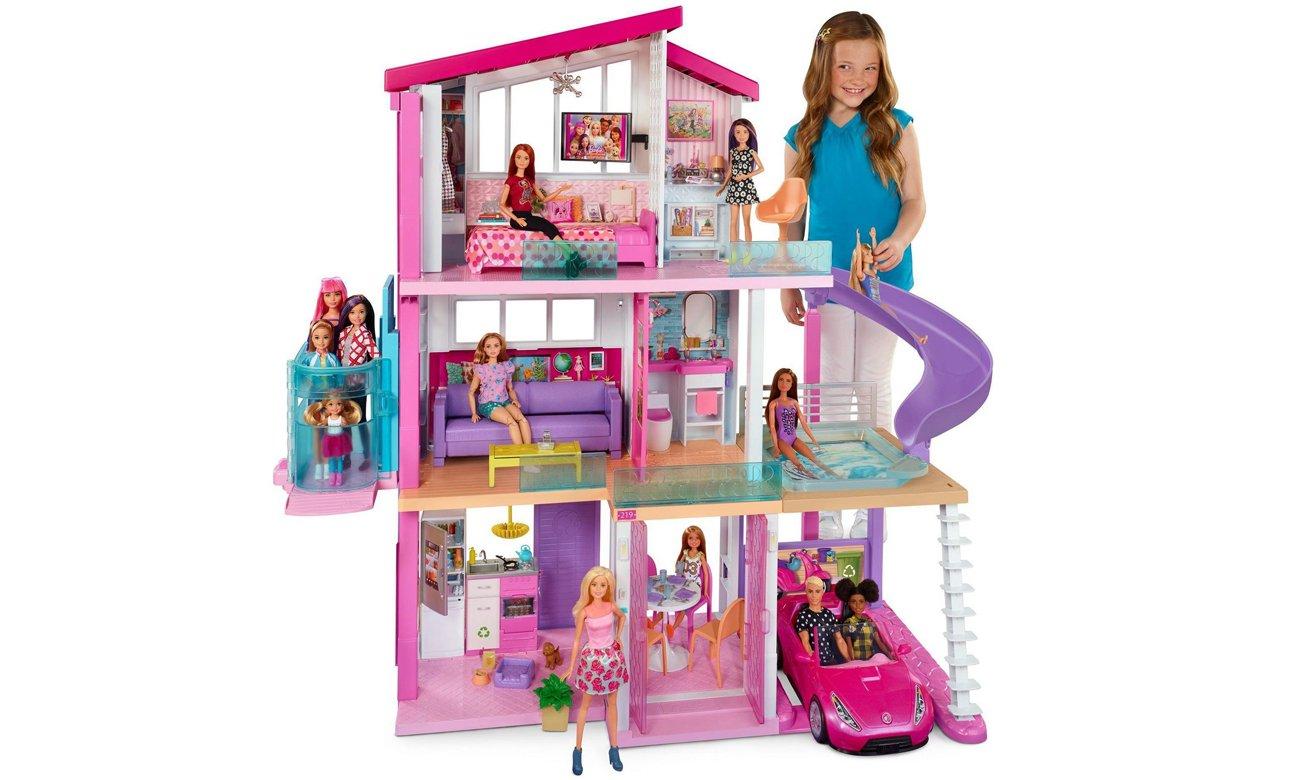 Mattel Barbie Idealny domek dla lalek nowa winda