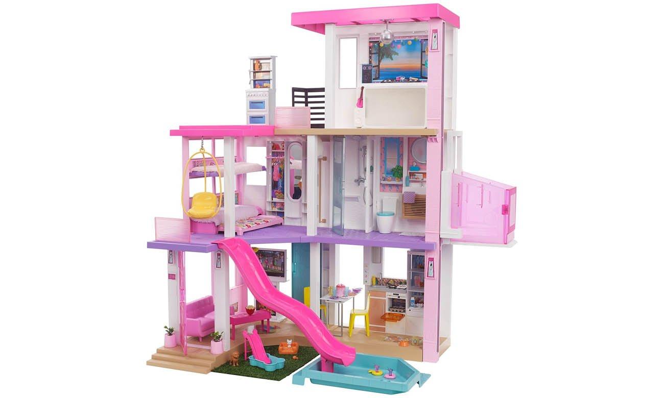 Barbie Dreamhouse Deluxe domek dla lalek GRG93