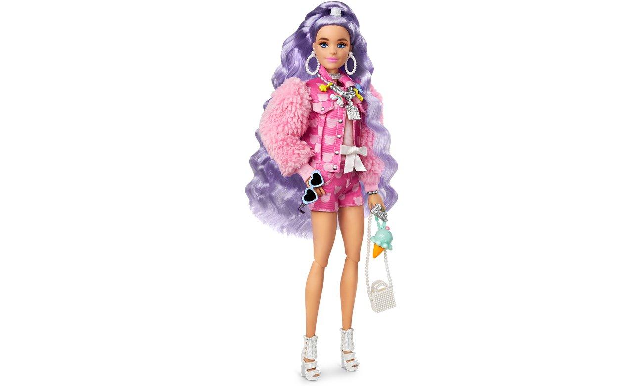 Barbie Fashionistas Extra Moda Lalka z akcesoriami