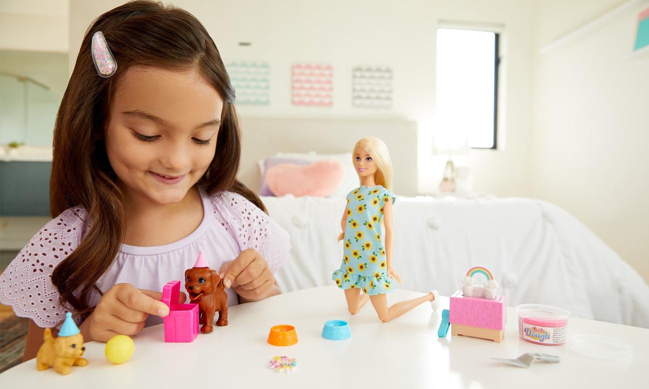 Mattel Barbie Przyjęcie dla szczeniaczka