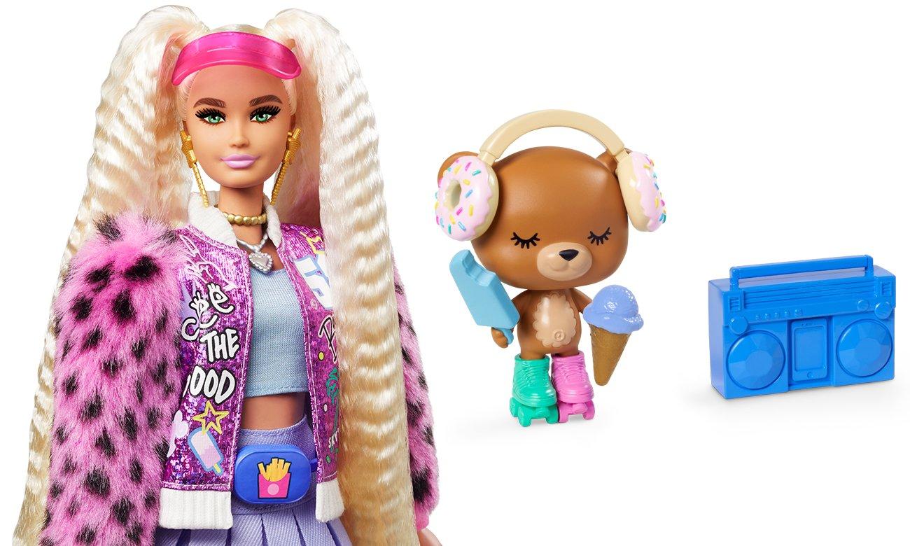 barbie extra lalka ze zwierzątkiem