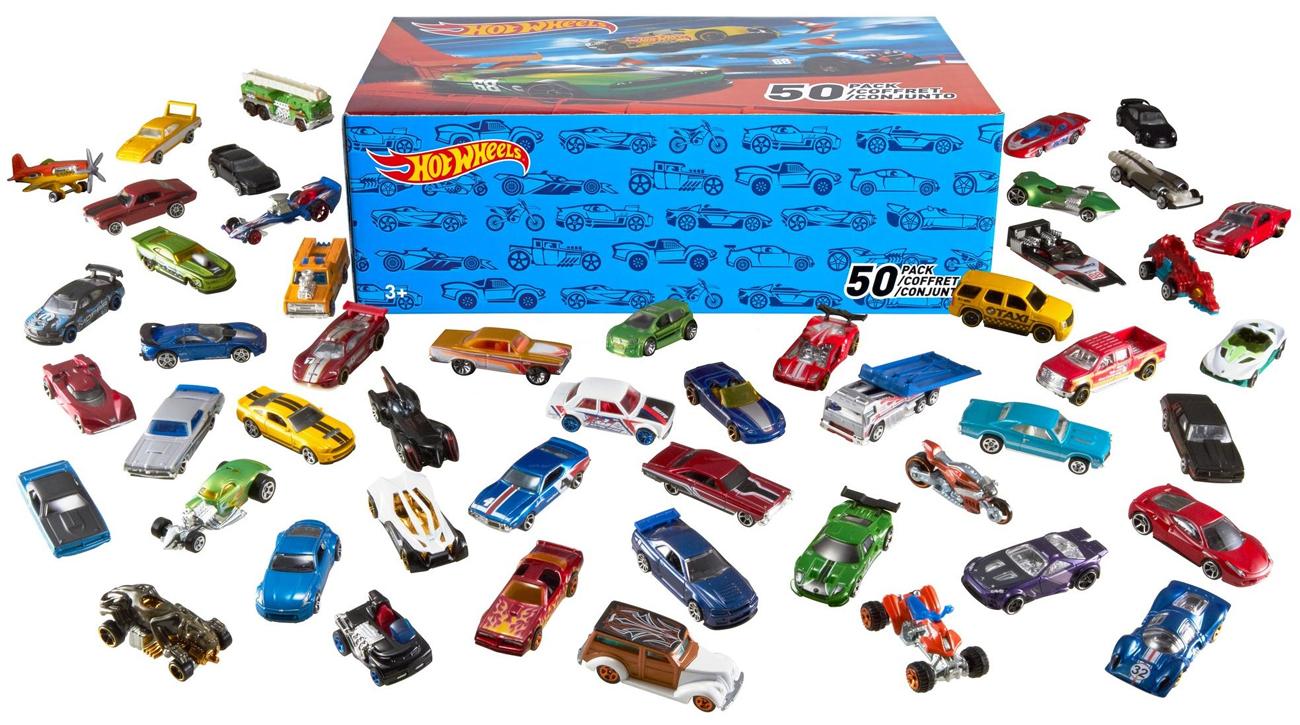 Mattel Hot Wheels Samochodziki 50-pak