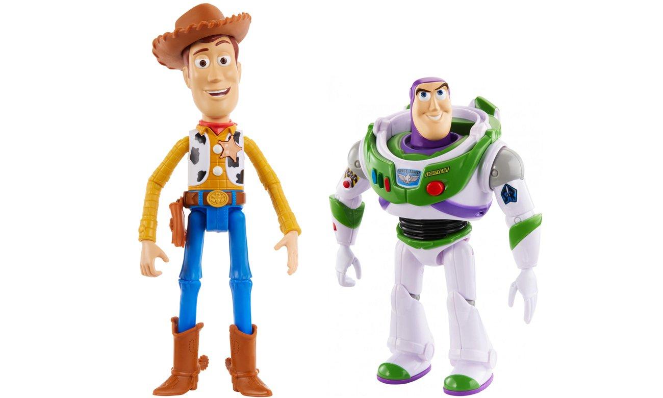 Mattel Toy Story 4 Mówiący Buzz i Chudy