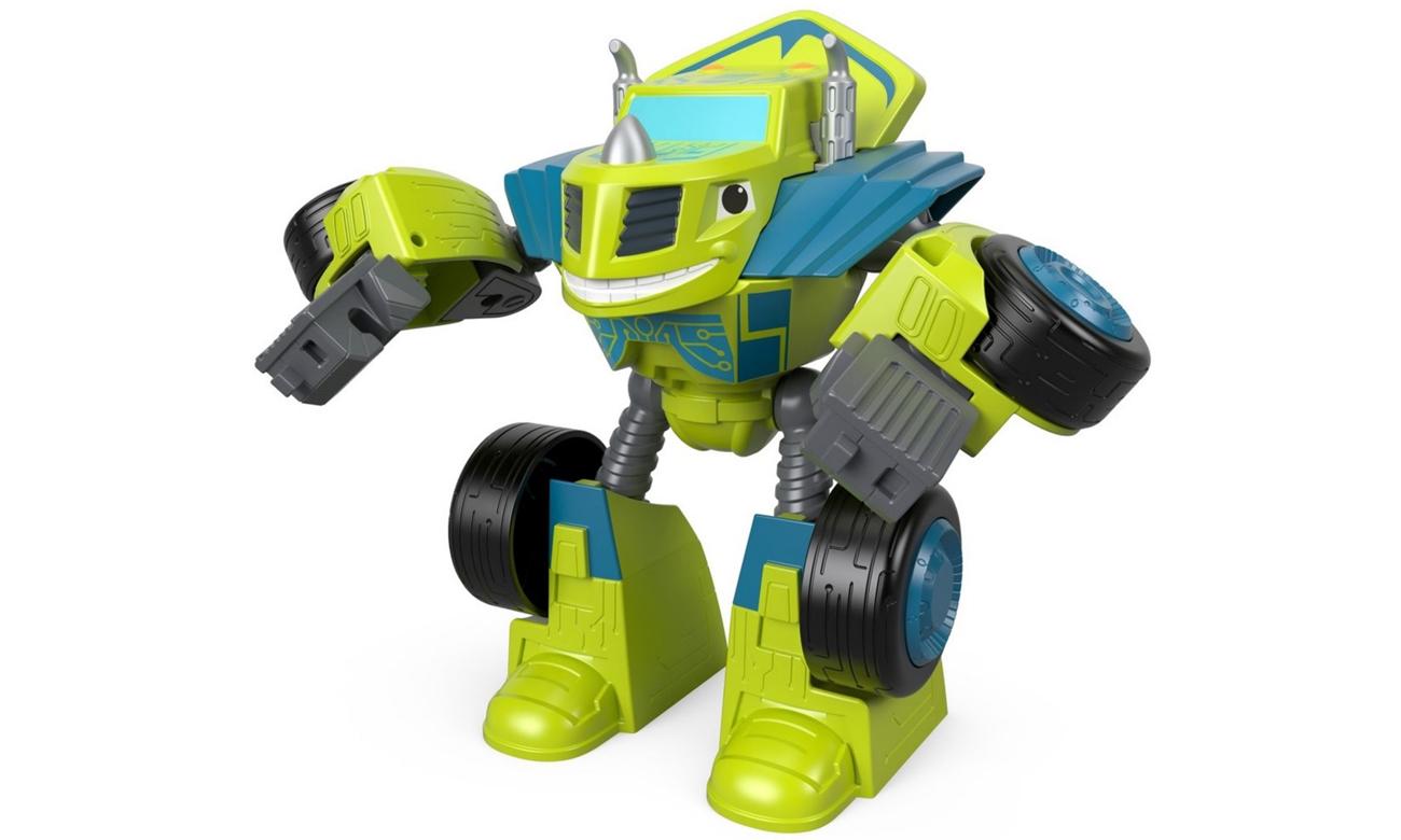 Mattel Pojazd-Robot Zeg