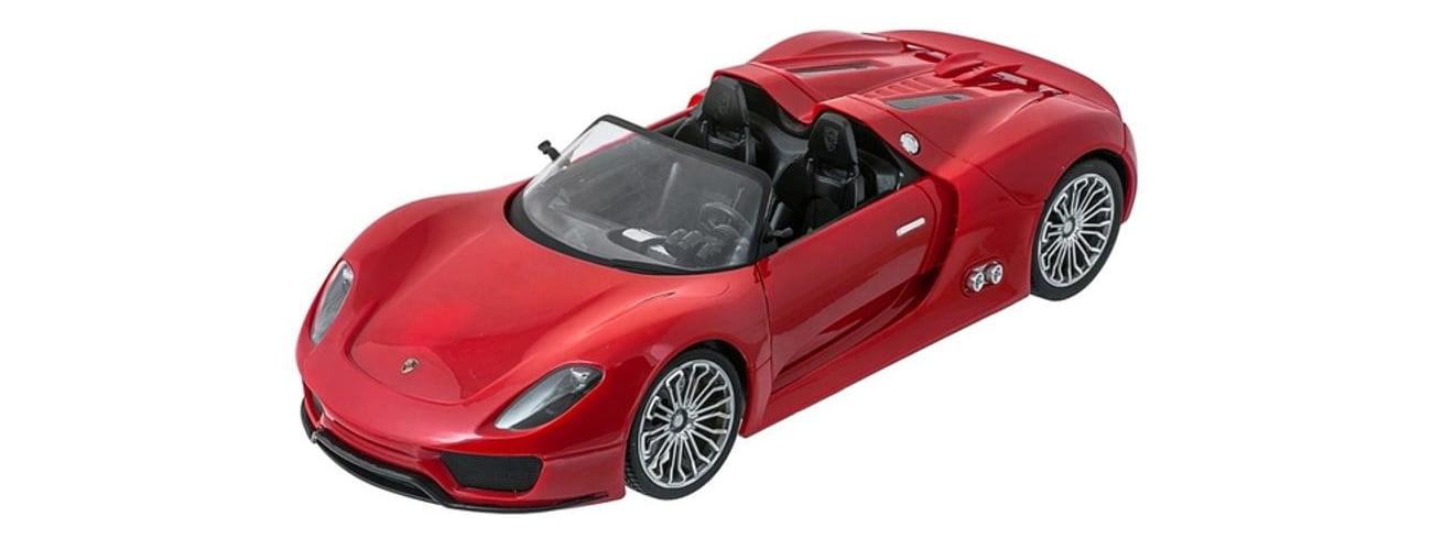 Mega Creative Samochód Porshe RC czerwony