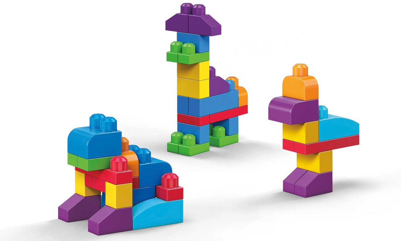 Mega Bloks First Builders Klocki 80 elementów