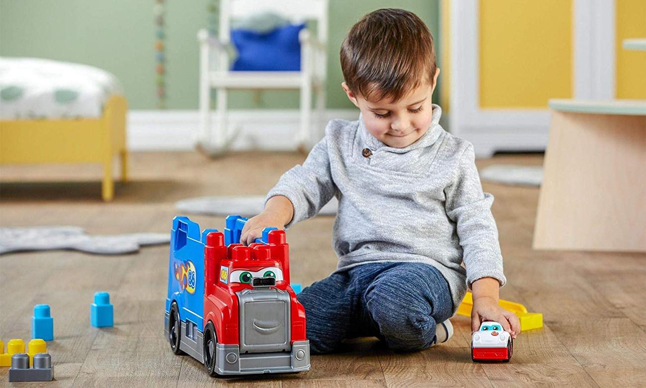 Mega Bloks Ciężarówka Buduj i ścigaj się