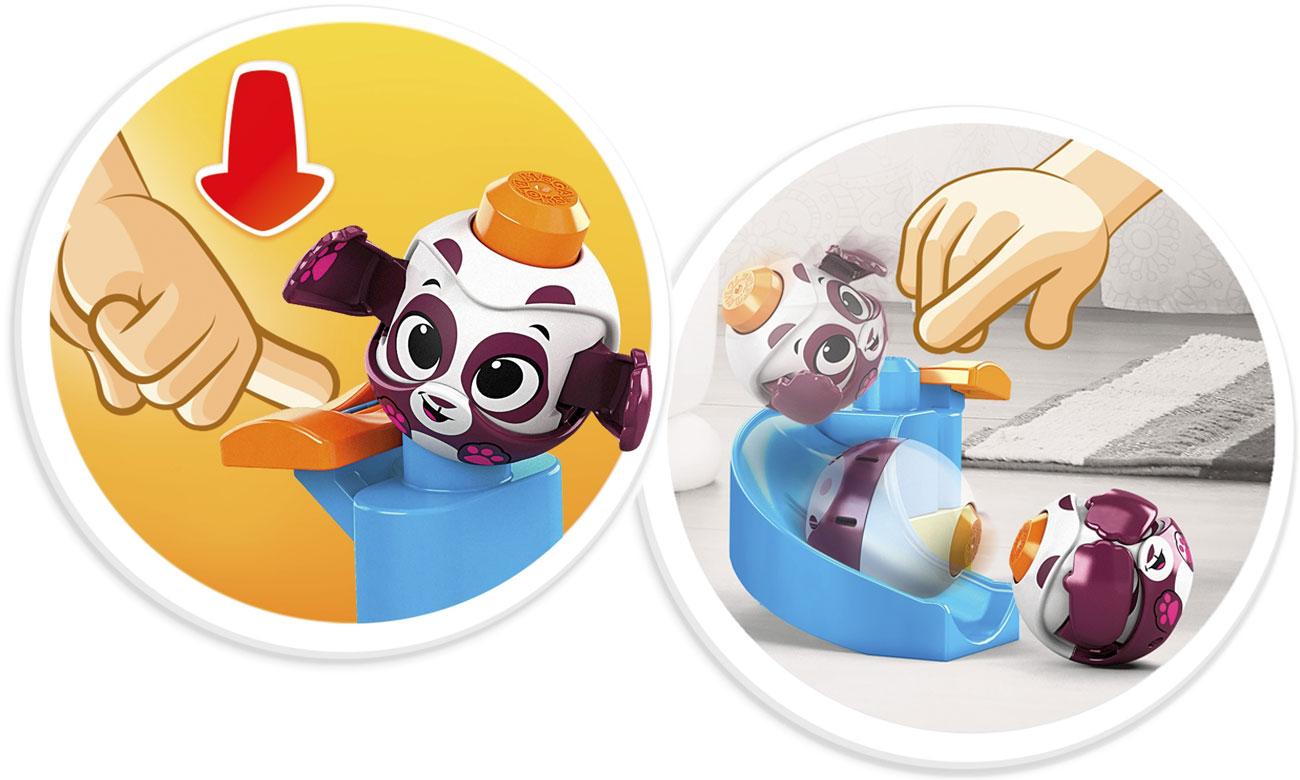 Klocki Mega Bloks A kuku Zjeżdżalnia + Panda