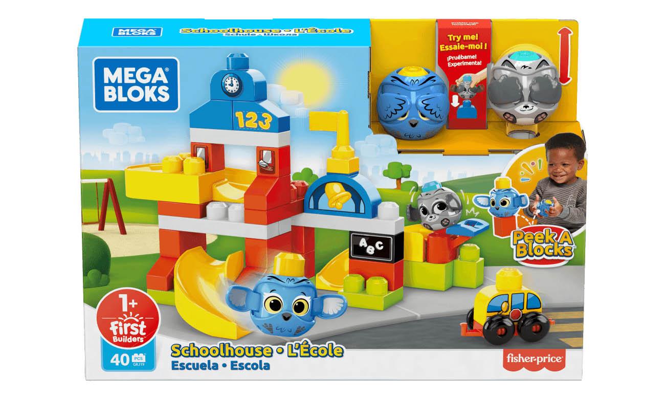 Mega Bloks Klocki A kuku Szkoła Zestaw