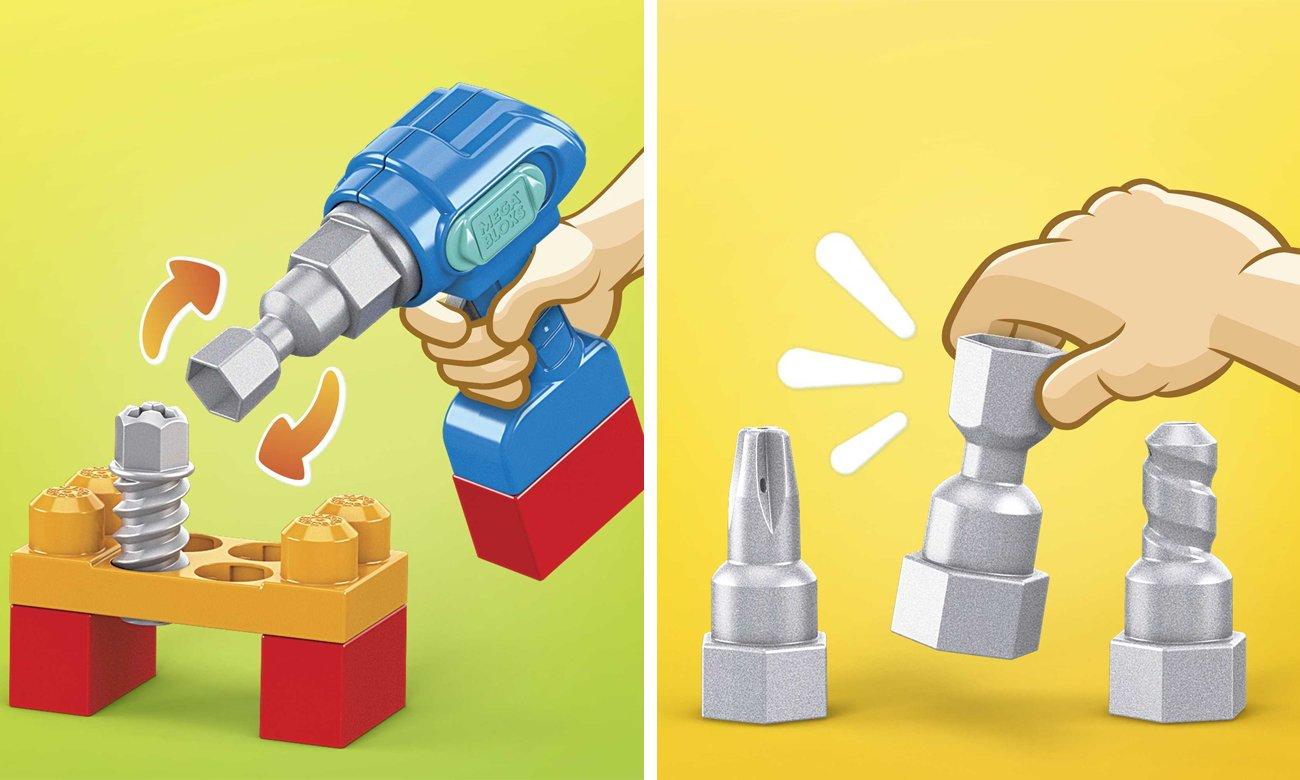 zabawkowe narzędzia dla dzieci