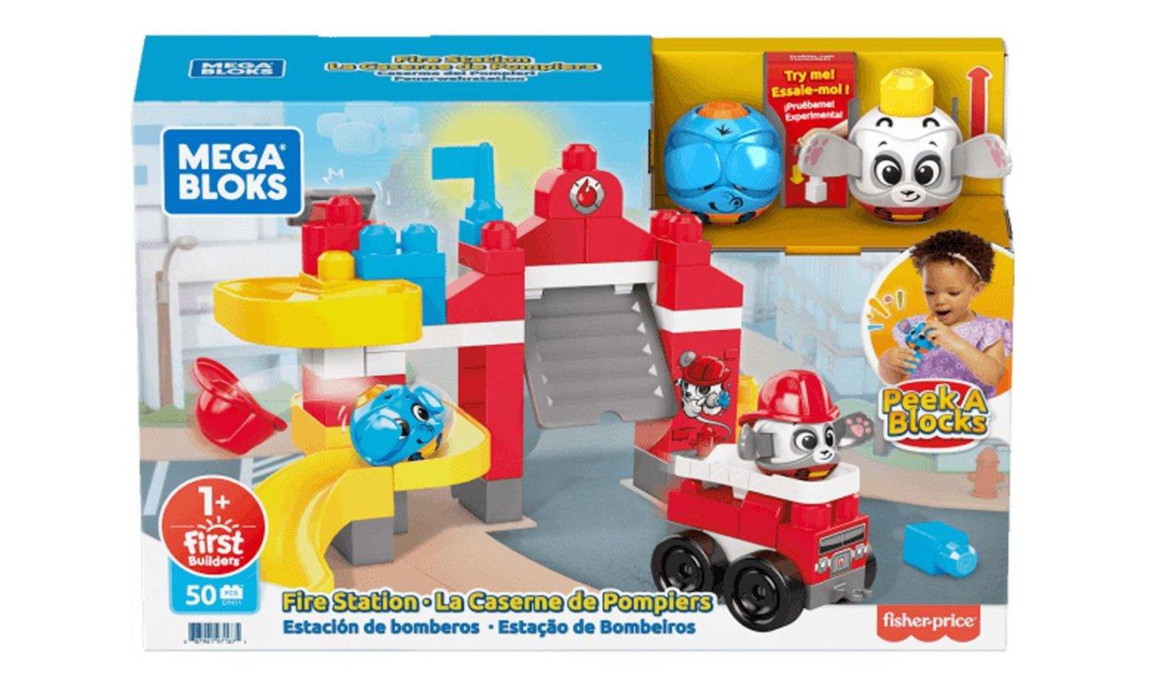 "Mega Bloks ""A kuku"" Remiza strażacka"