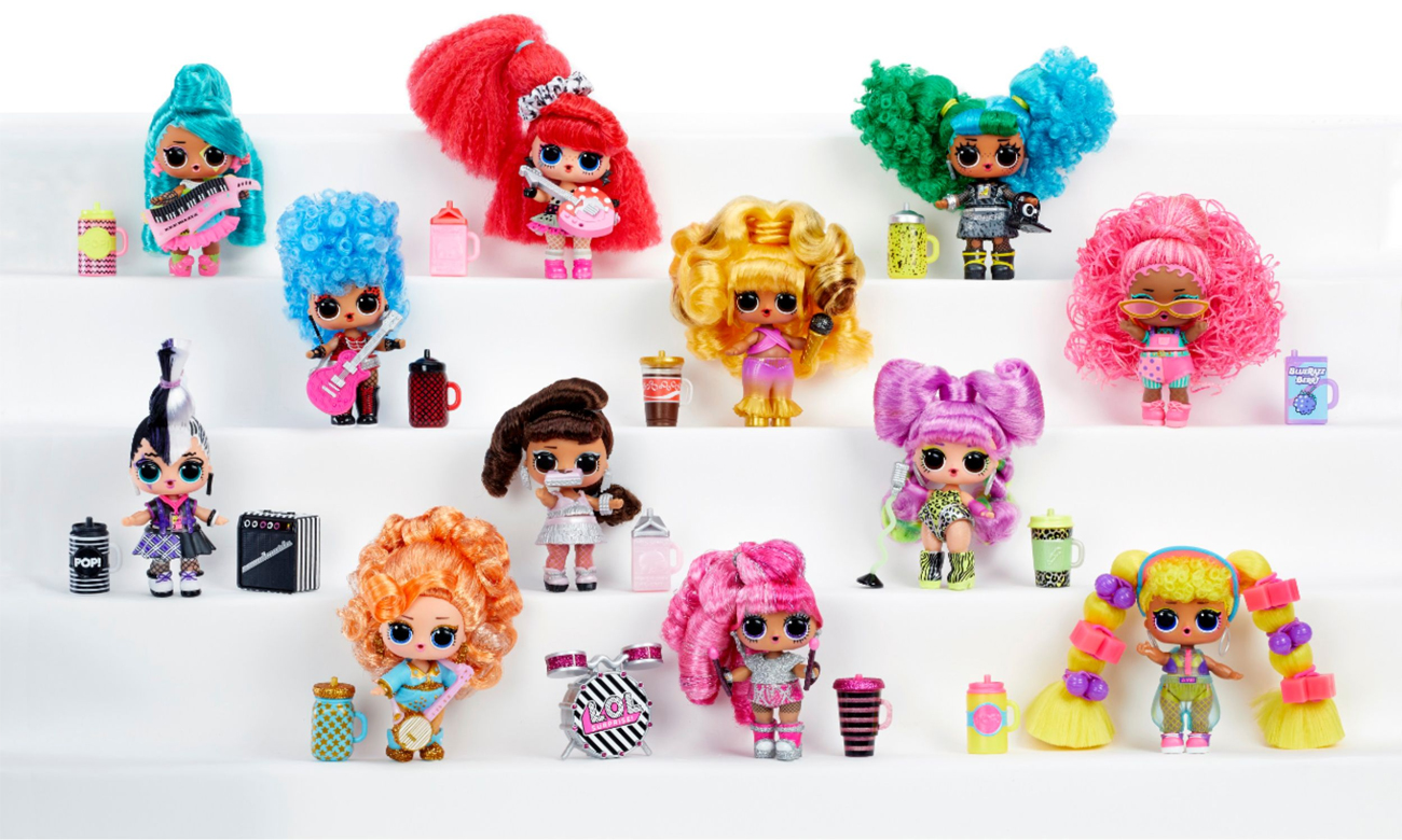 MGA  L.O.L Surprise! Remix Hairflip